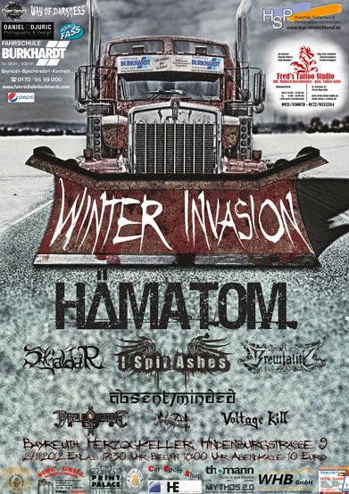Flyer Winter Invasion