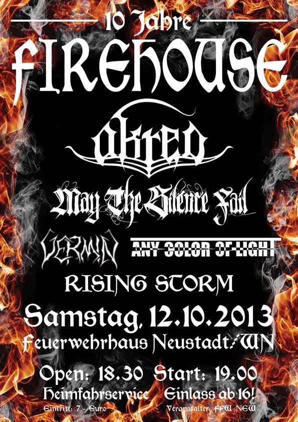 Flyer Firehouse X