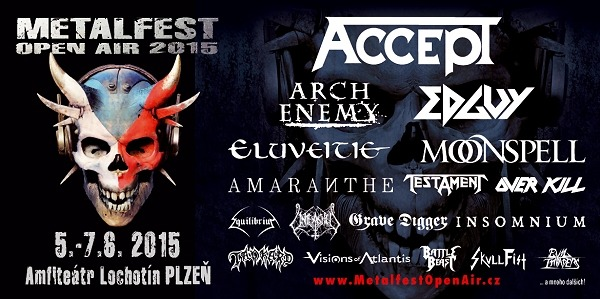 Flyer Metalfest Open Air 2015